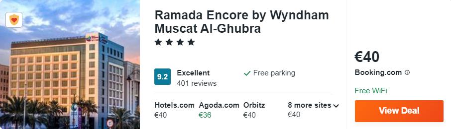 Ramada Encore by Wyndham Muscat Al-Ghubra