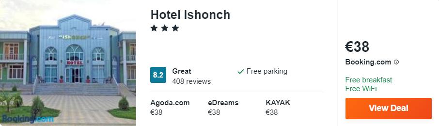 Hotel Ishonch