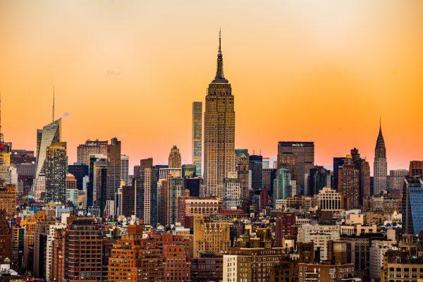 США Нью-Йорк Манхеттен