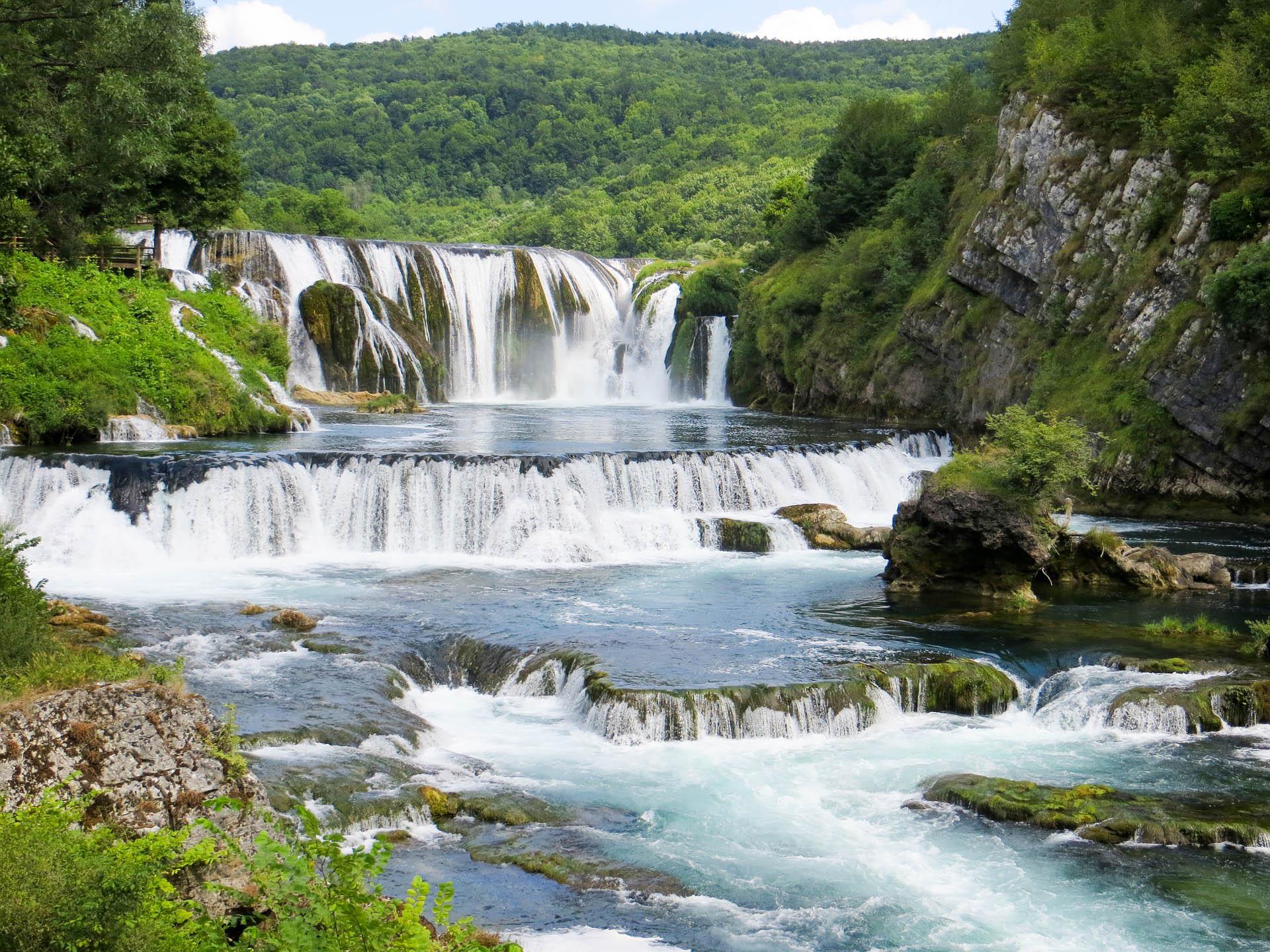Боснія Дрвар парк Уна