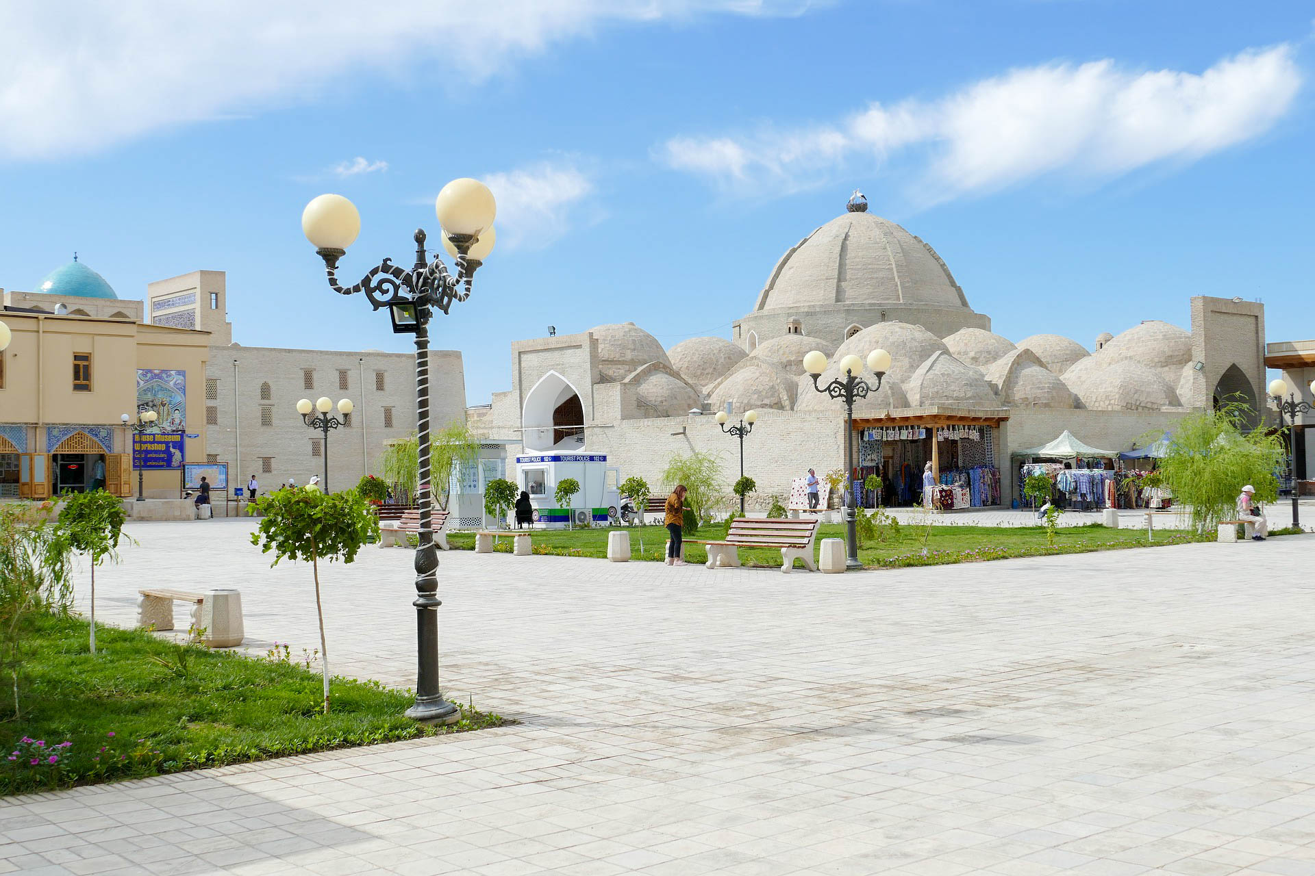 Узбекистан Бухара купол