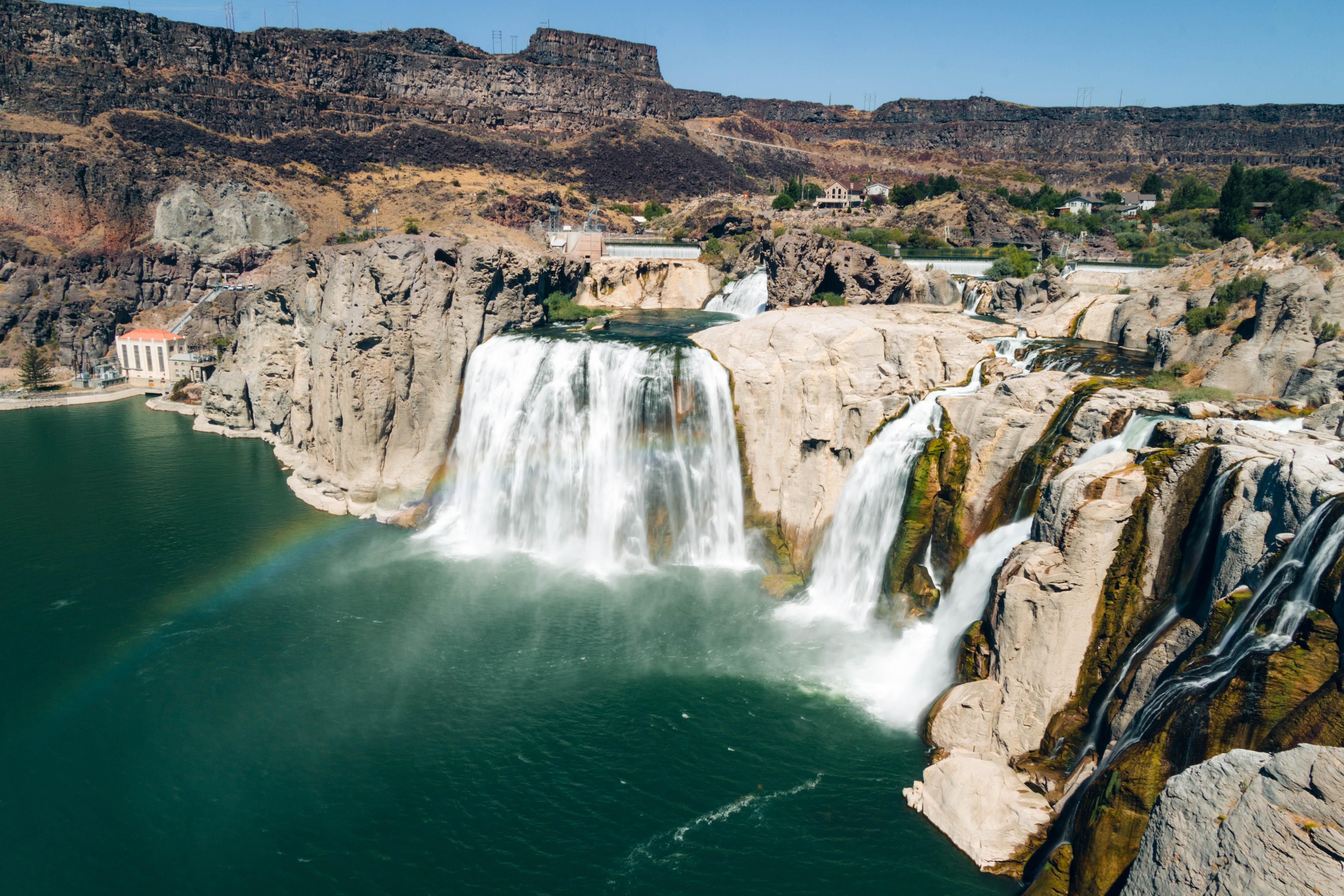 США Айдахо водоспади Шошонів