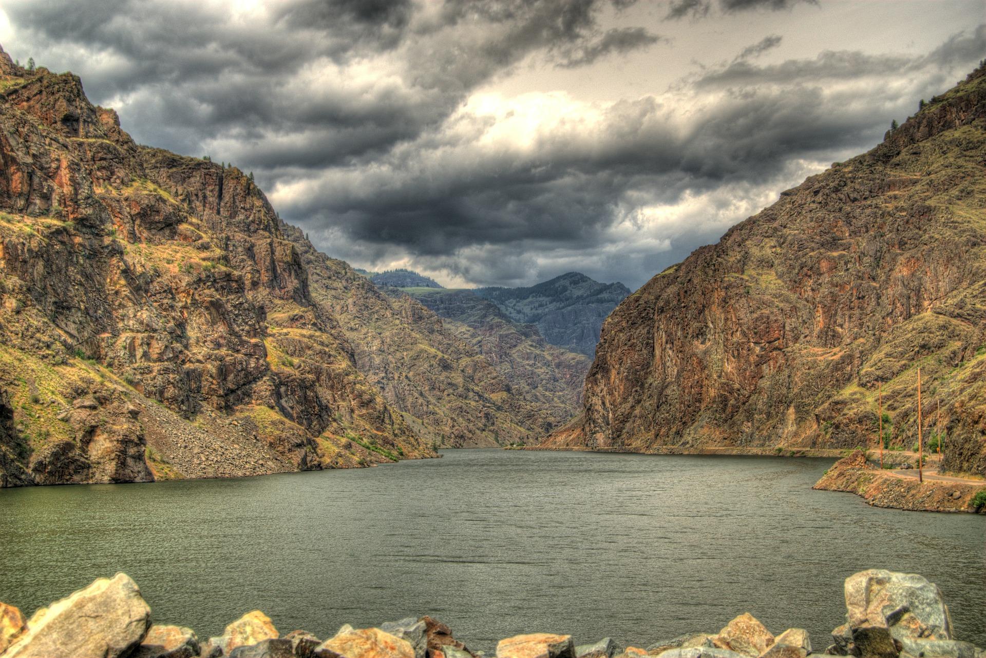 США Айдахо каньйон Хеллс