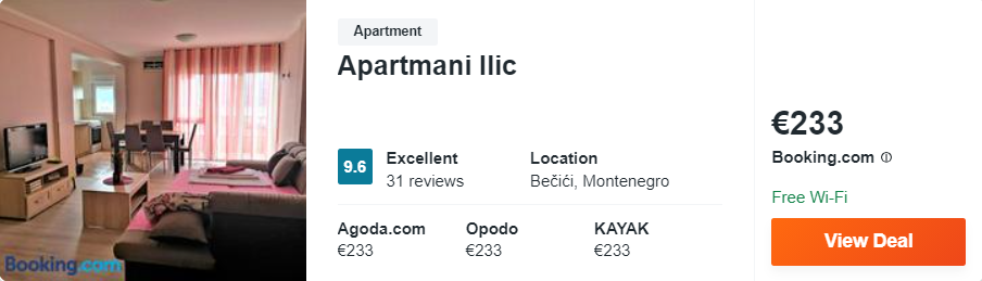 Apartmani Ilic