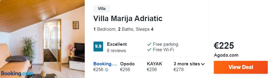 Villa Marija Adriatic