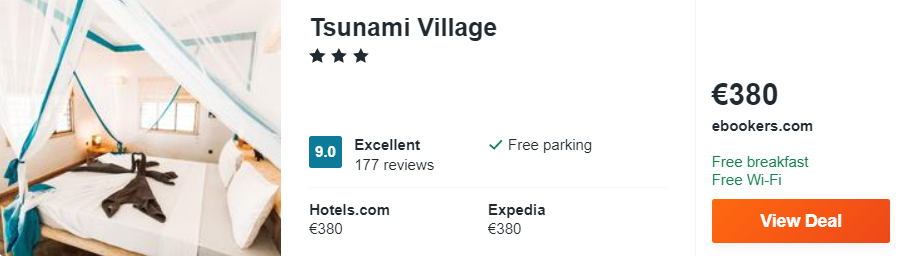 Tsunami Village