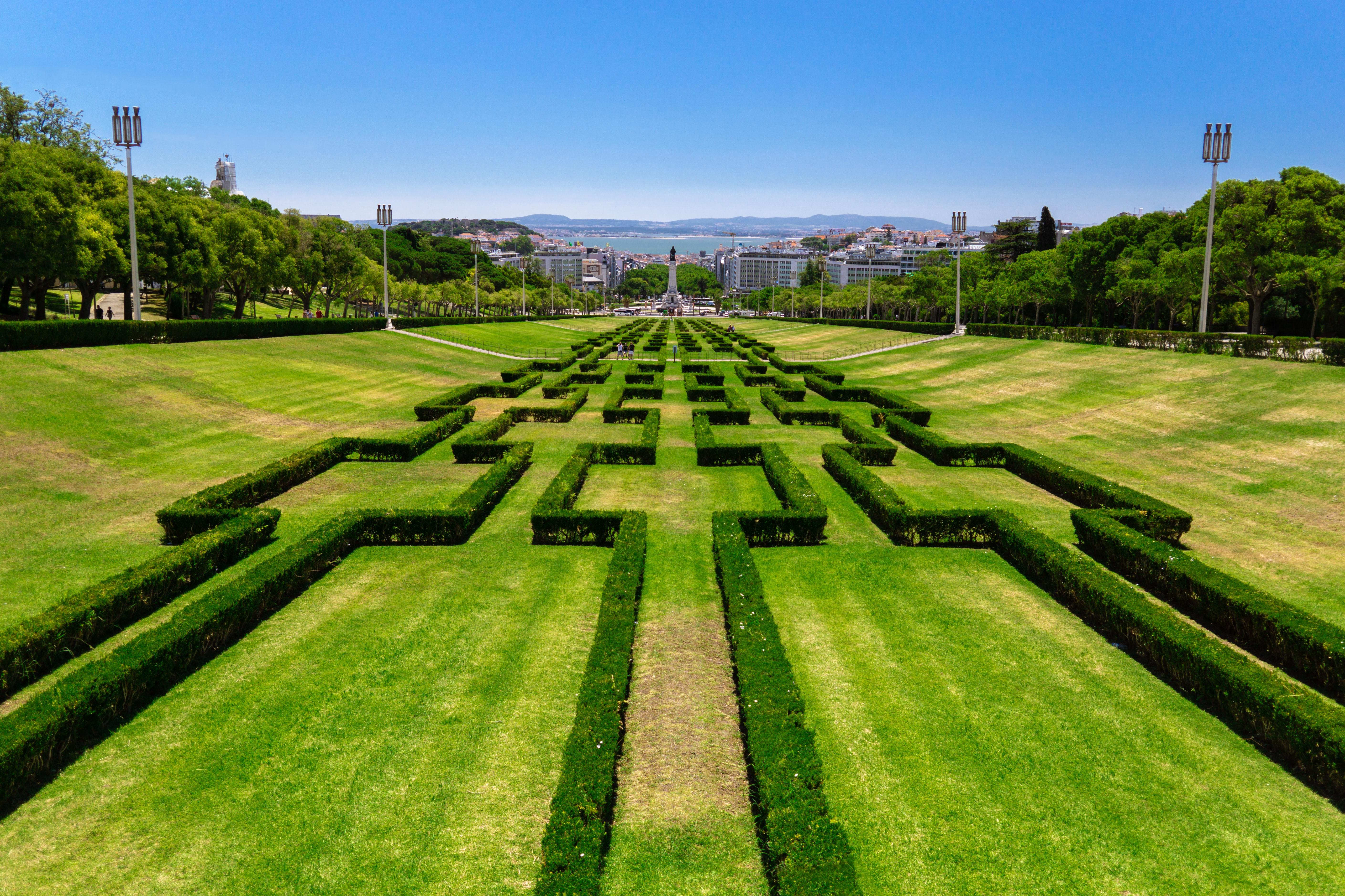 Португалія Лісабон парк Едуарда VII
