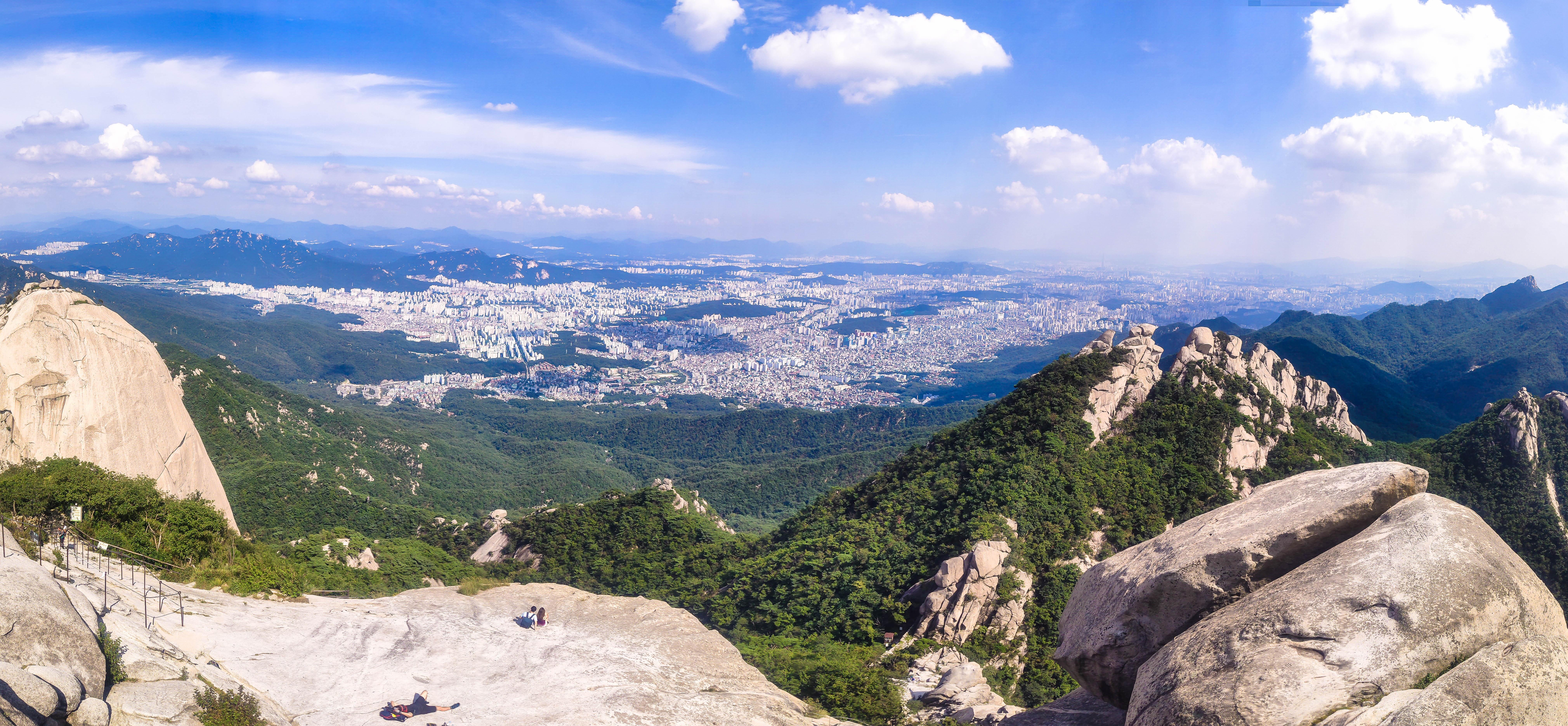 Південна Корея Сеул Пукхансан