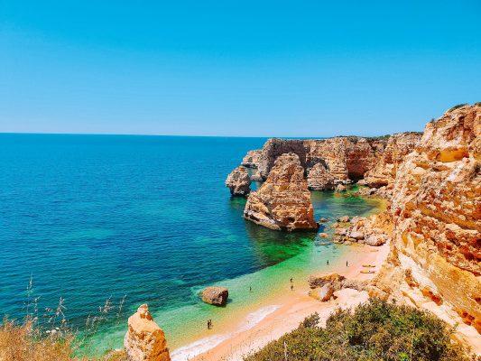 Португалія Алгарве Прая да Марина