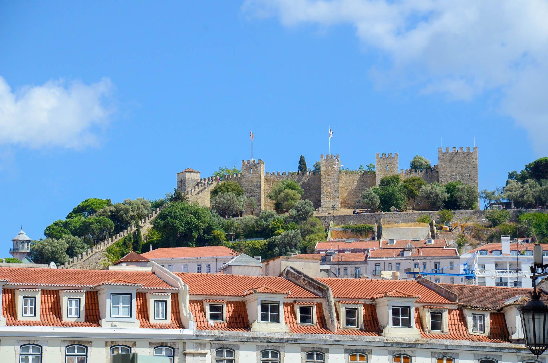 Португалія Лісабон Замок святого Георгія