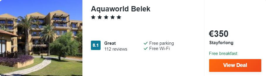 Aquaworld Belek