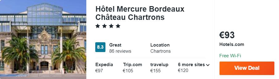 Hôtel Mercure Bordeaux Château Chartrons