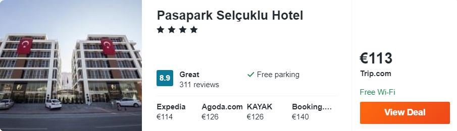 Pasapark Selçuklu Hotel