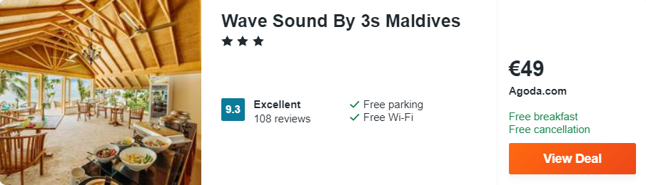 Wave Sound By 3s Maldives