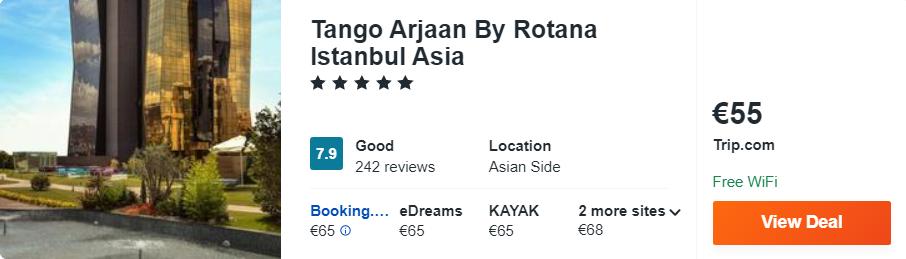 Tango Arjaan By Rotana Istanbul Asia