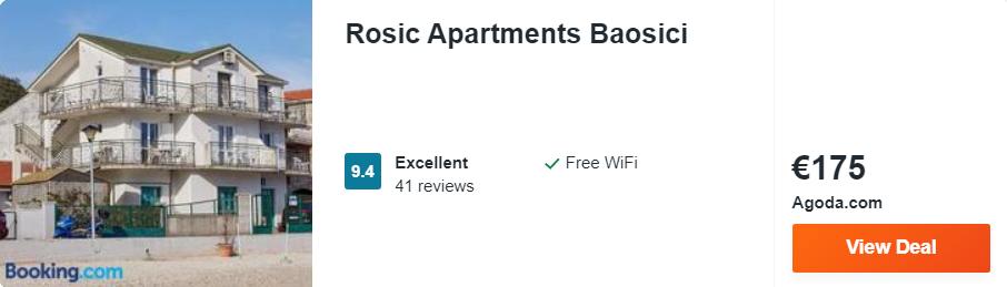 Rosic Apartments Baosici
