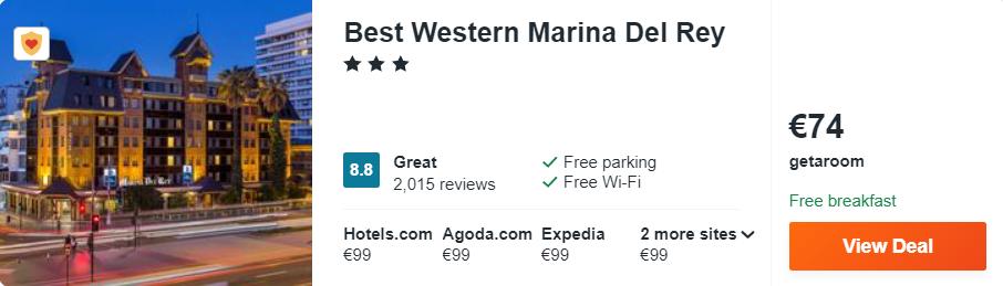 Best Western Marina Del Rey