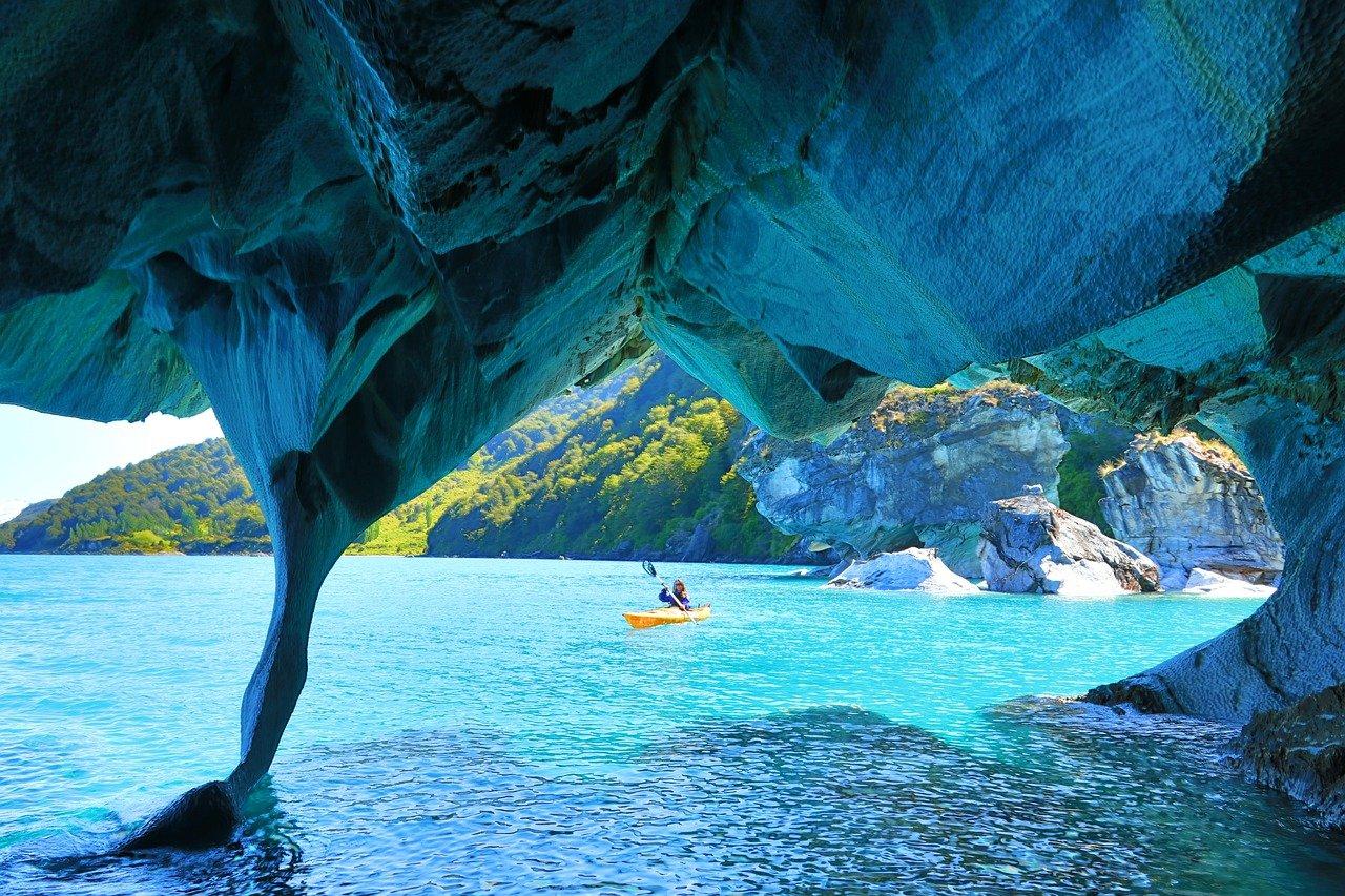 Чилі Патагонія Мармурові печери