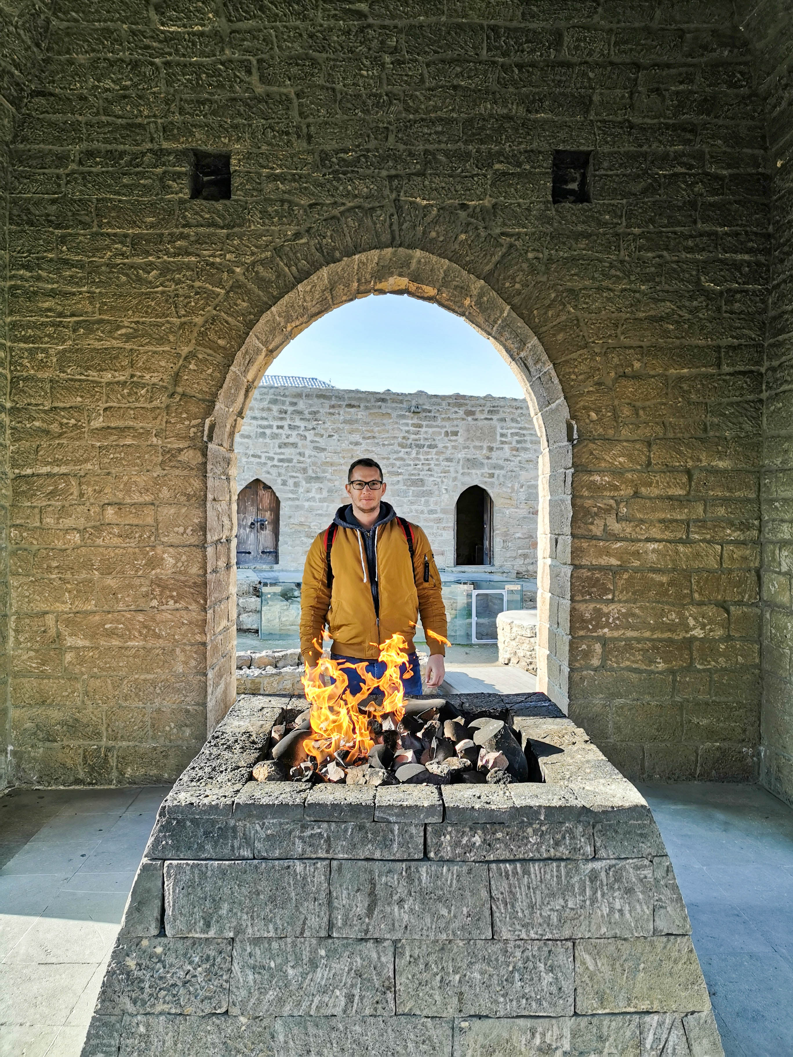 Азербайджан Баку Атешгях