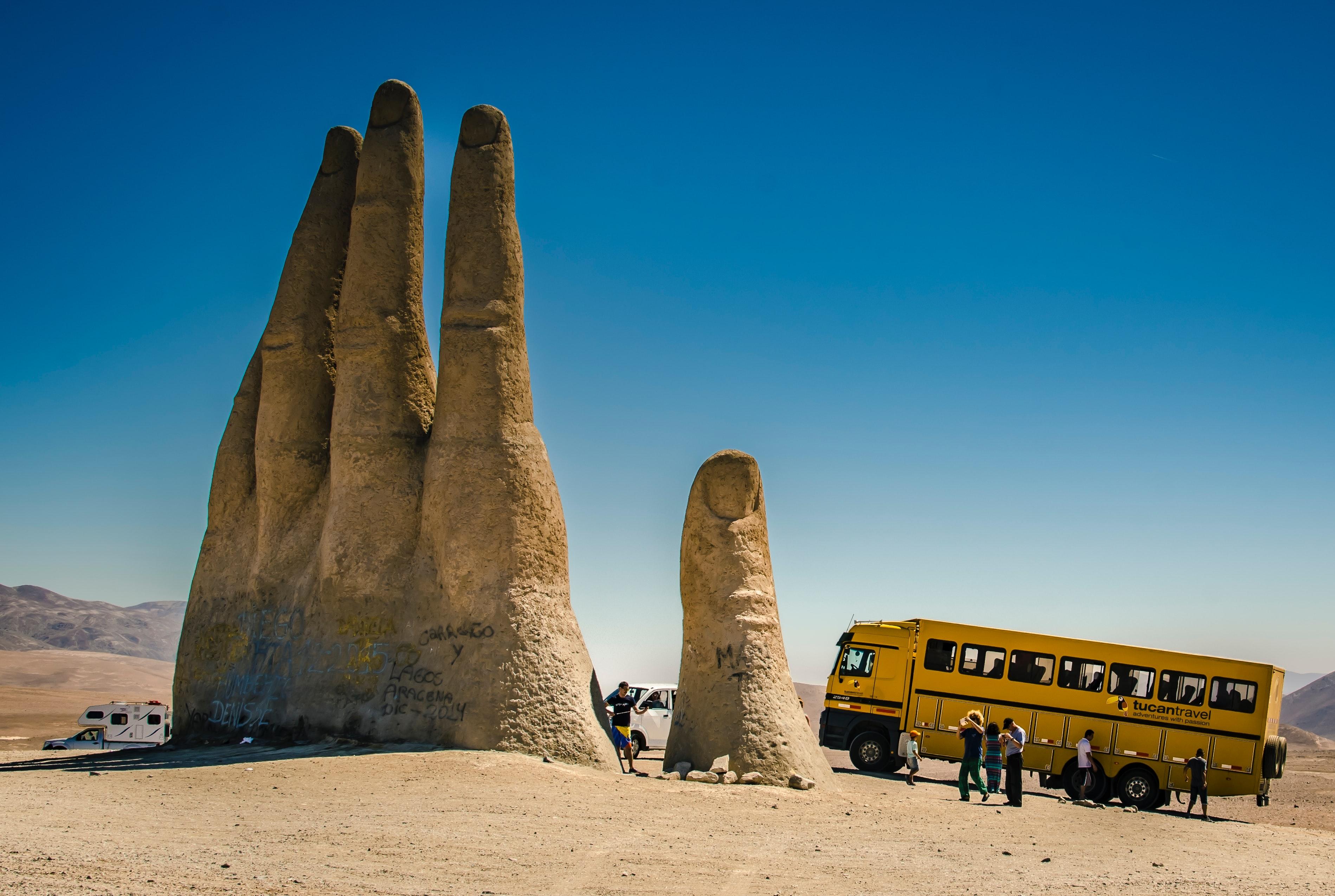 Чилі Атакама рука пустелі