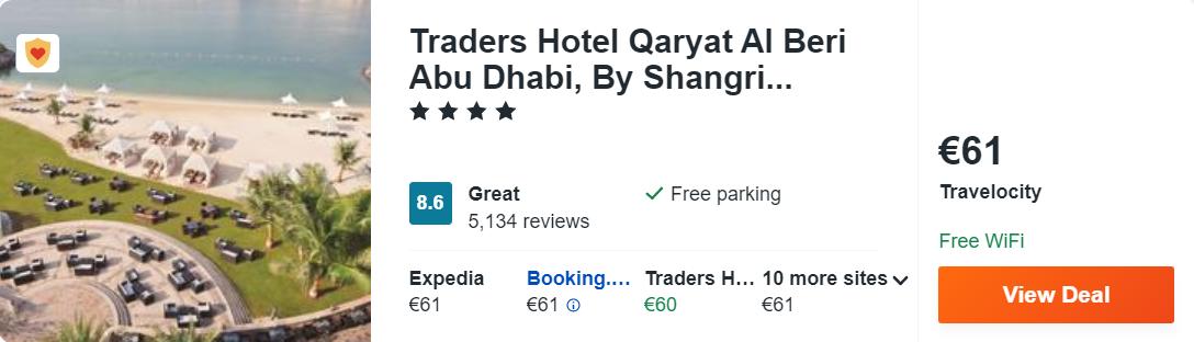 Traders Hotel Qaryat Al Beri Abu Dhabi, By Shangri...