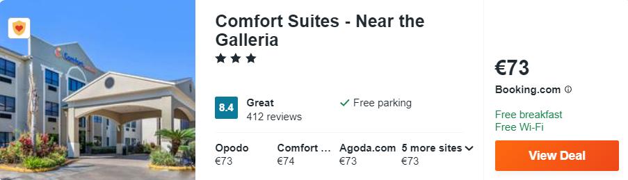 Comfort Suites - Near the Galleria