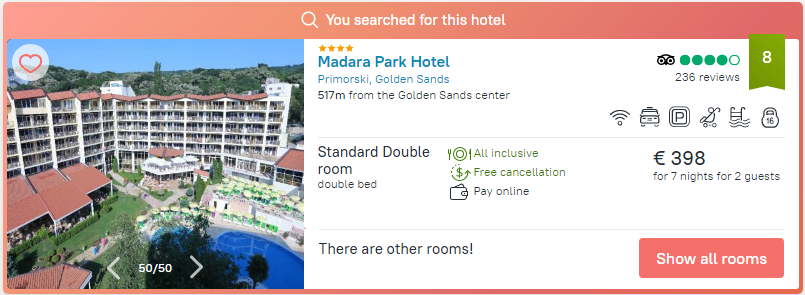 Smartline Hotel Madara