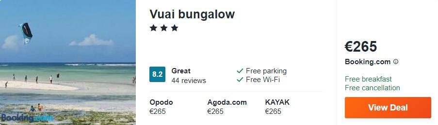 Vuai bungalow