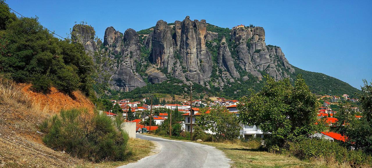 Греція Метеора Каламбака