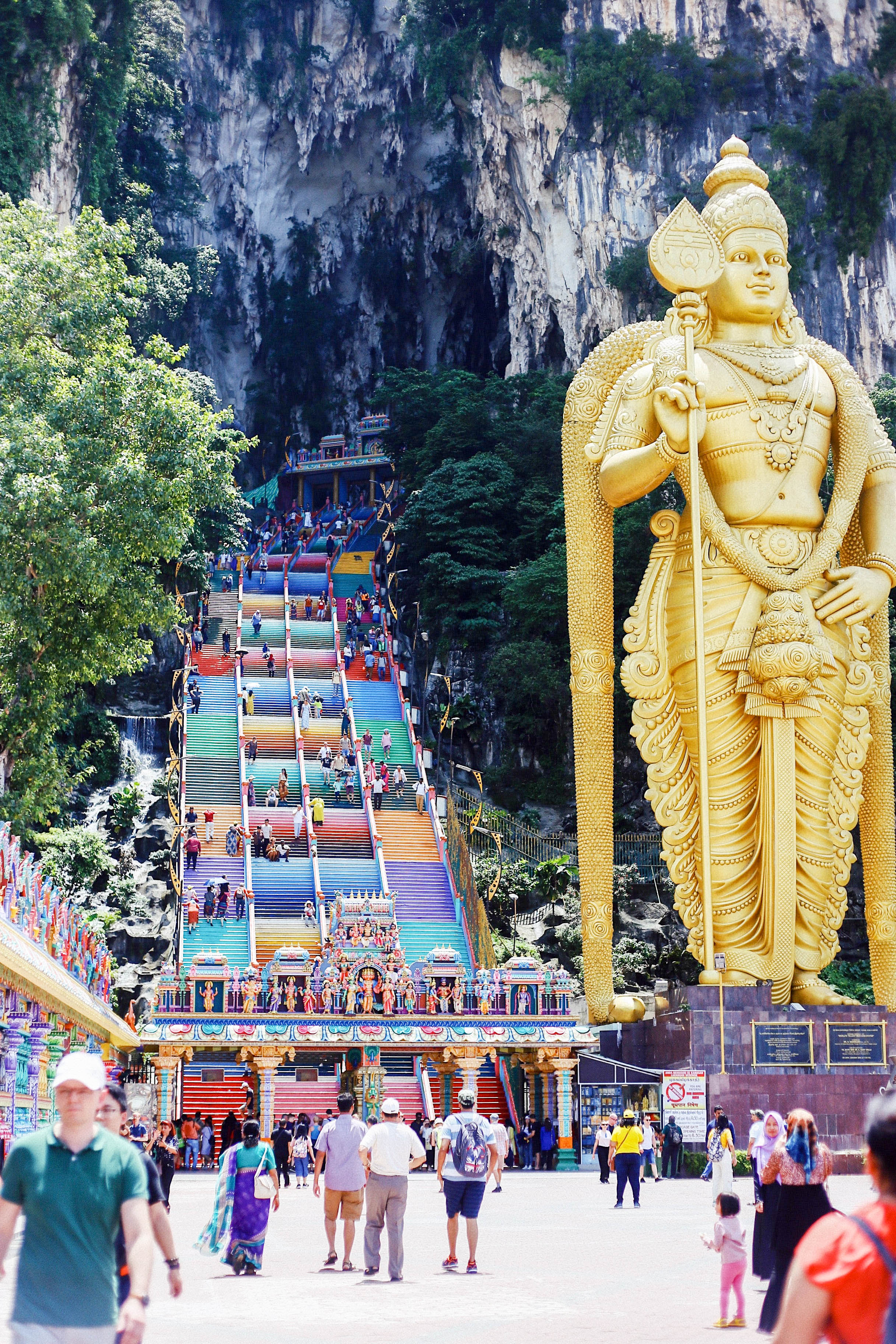Малайзія Куала-Лумпур печери Бату