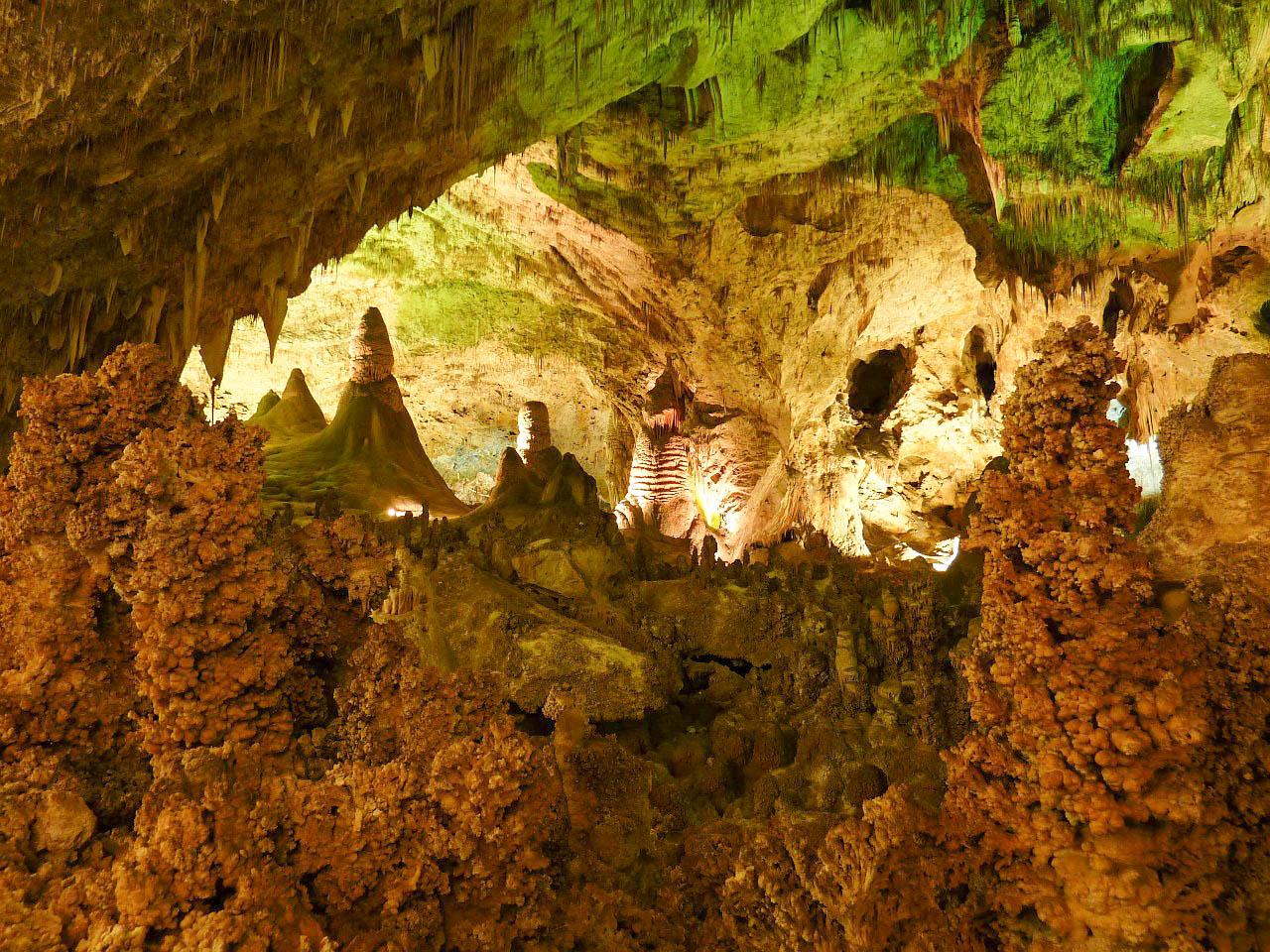 США Нью-Мексико Карлсбадські печери