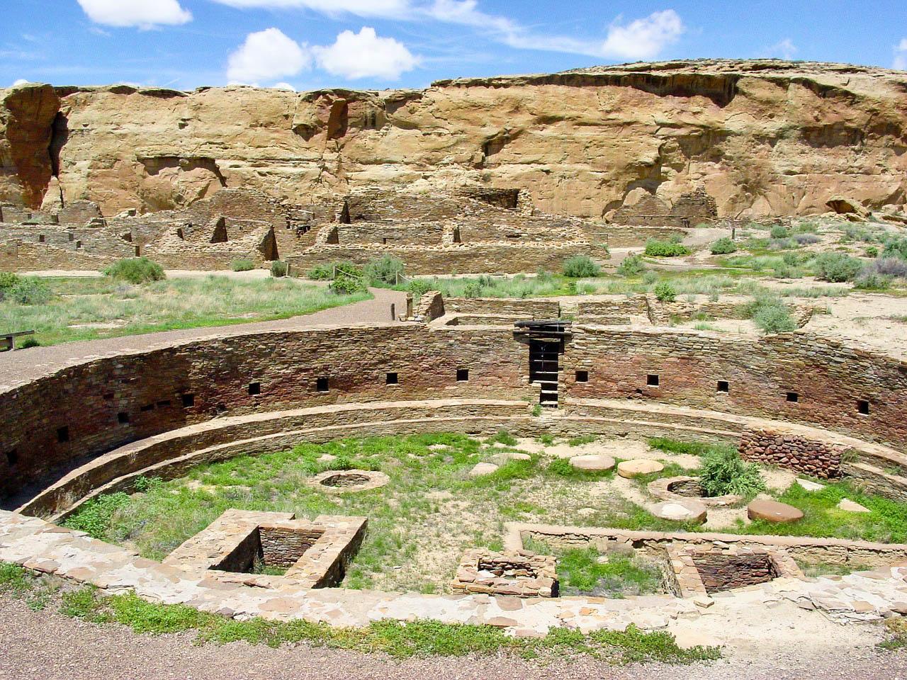 США Нью-Мексико каньйон Чако