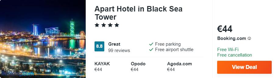 Apart Hotel in Black Sea Tower