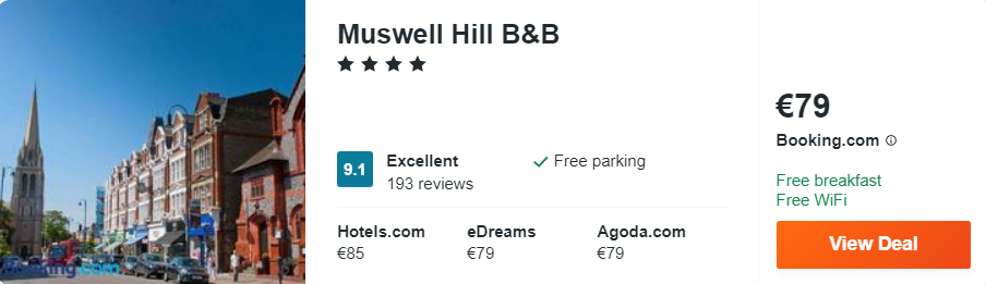 Muswell Hill B&B