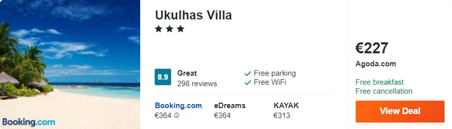 Villa Ukulhas