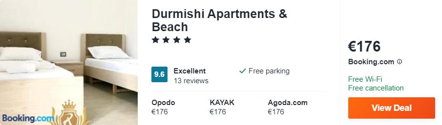 Durmishi Apartments & Beach