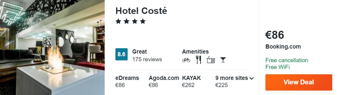 Hotel Costé