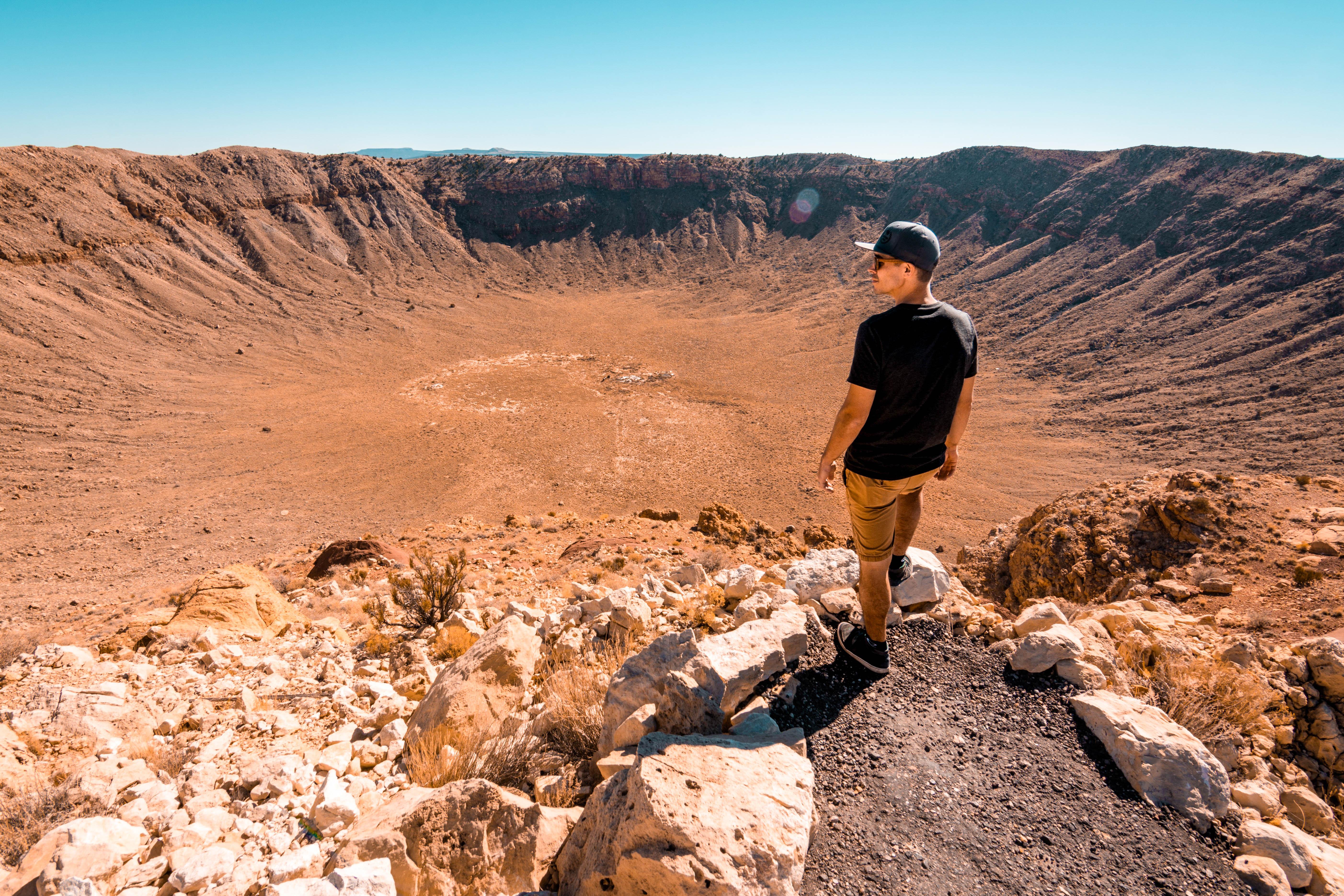 США Аризона кратер