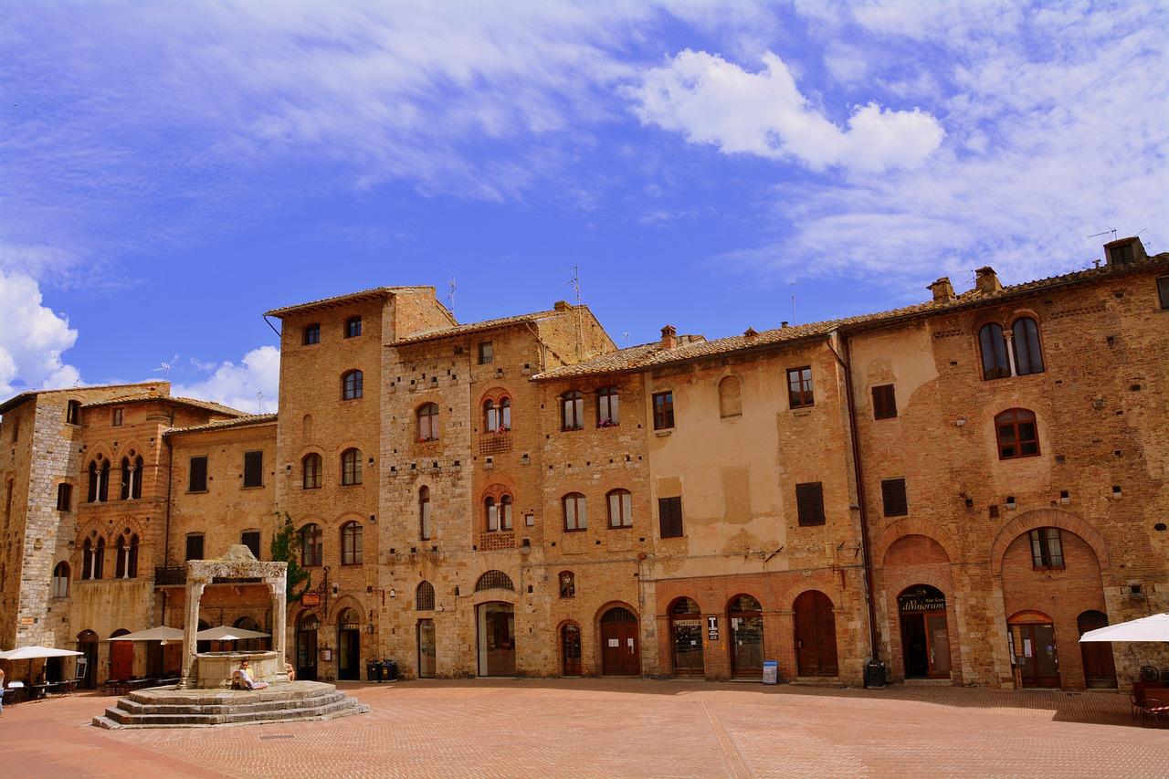 Італія Тоскана Сан-Джиміньяно