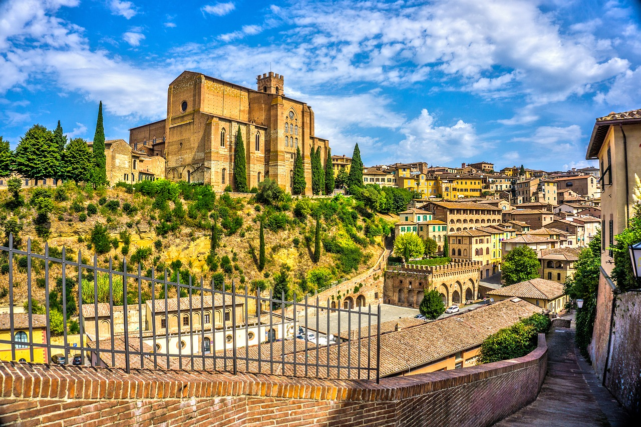 Італія Тоскана Сієна