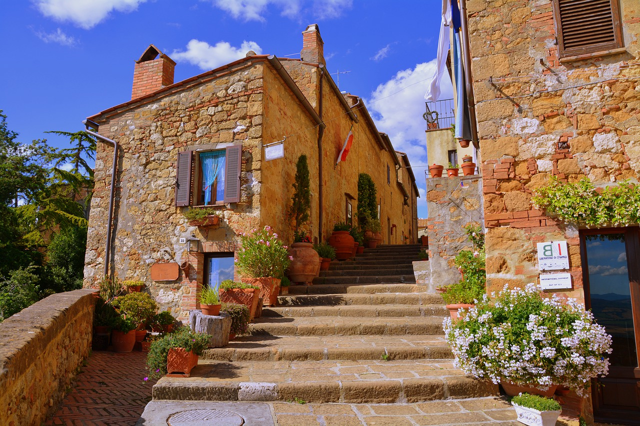 Італія Тоскана П'єнца