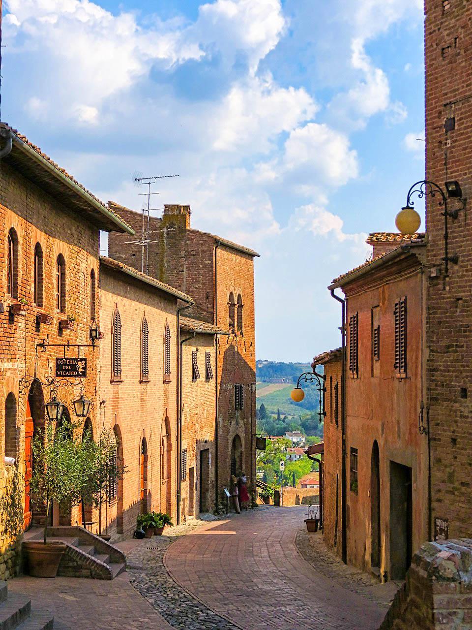 Італія Тоскана Чертальдо