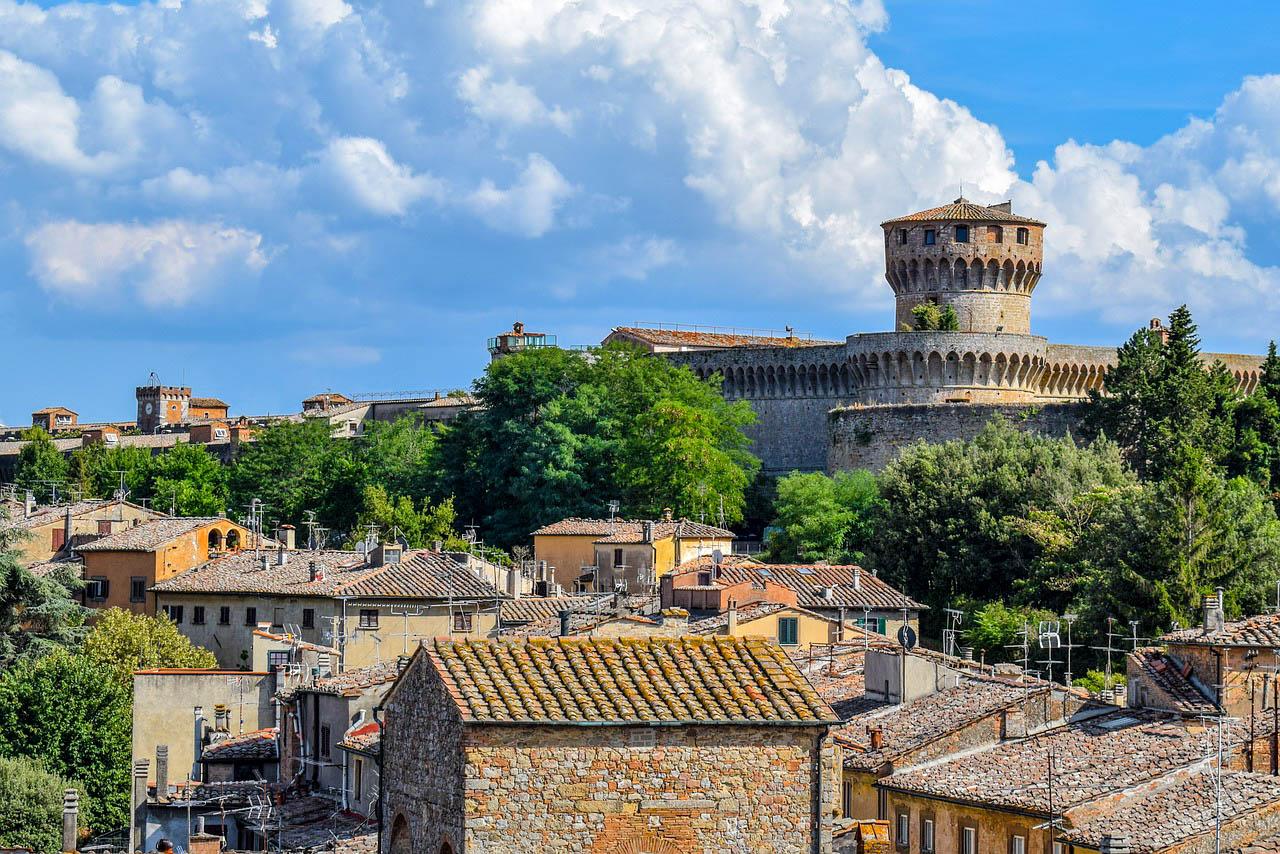Італія Тоскана Вольтерра