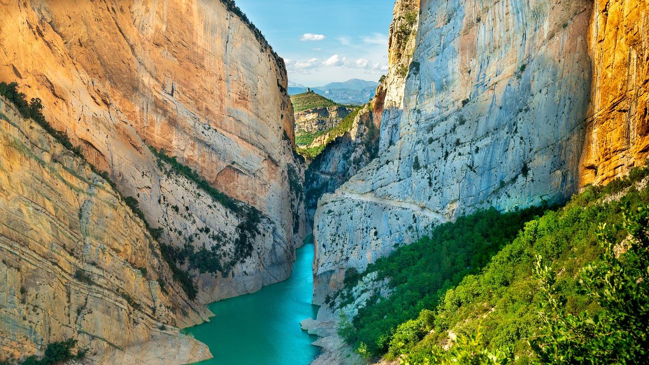 Іспанія Каталонія Congost de Mont-rebei