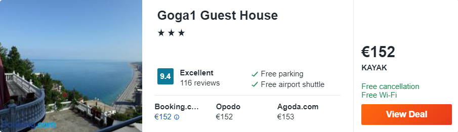 Goga1 Guest House