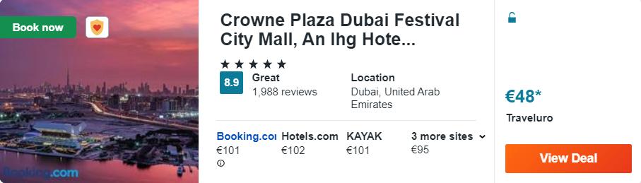 Crowne Plaza Dubai Festival City Mall, An Ihg Hotel