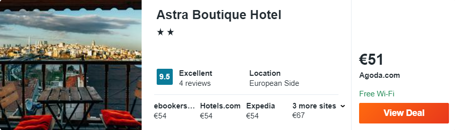 Astra Boutique Hotel
