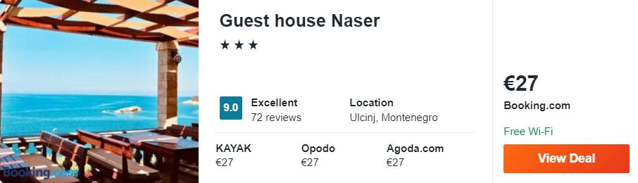 Guest house Naser