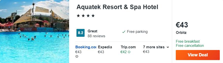 Aquatek Resort & Spa Hotel