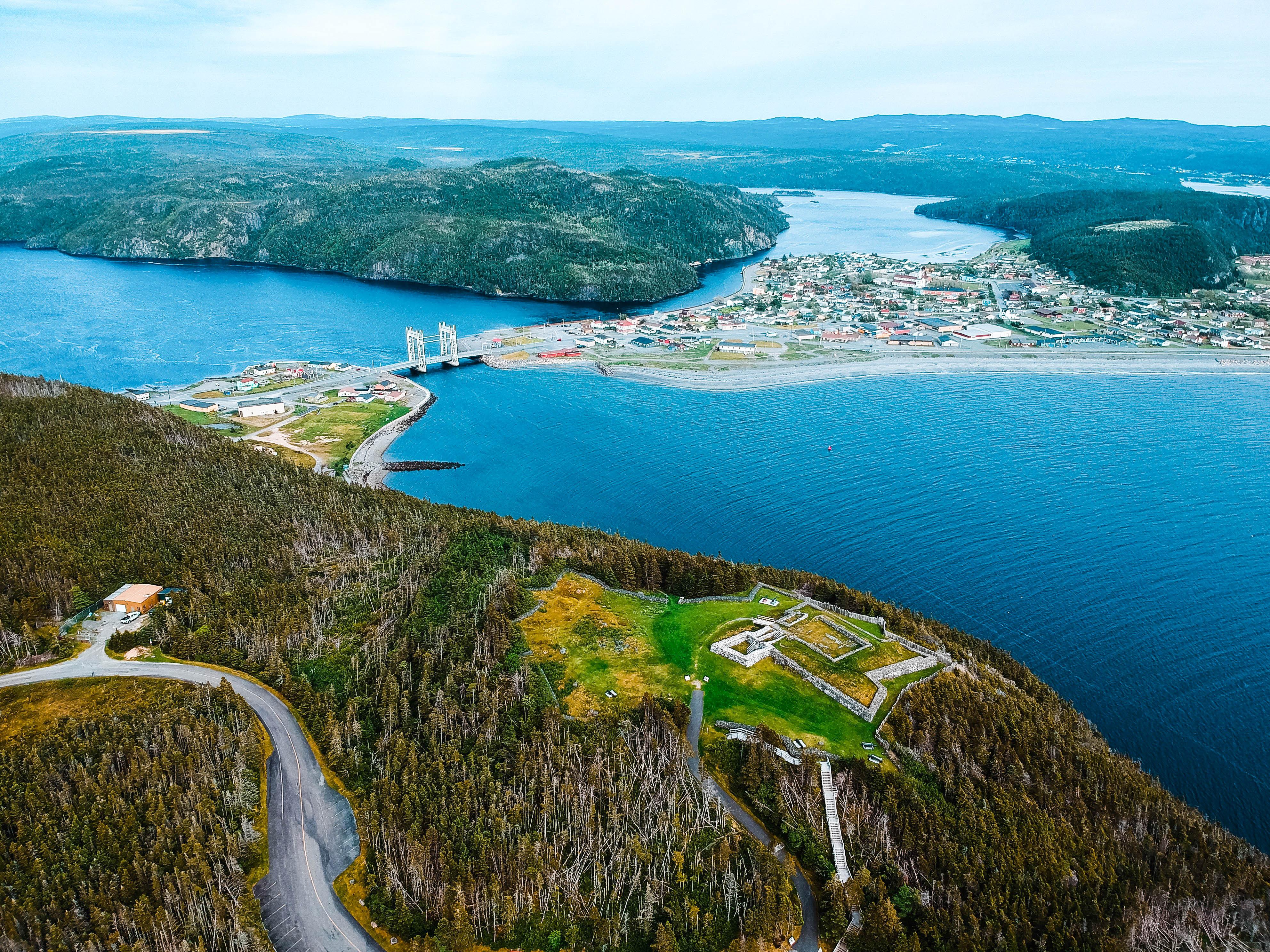 Канада Ньюфаундленд Castle Hill